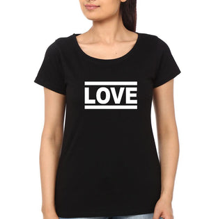 ektarfa.com Couple T-Shirts One Love Couple T-Shirt - Set of 2 Pcs.