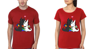 ektarfa.com Couple T-Shirts Rainbow Dragon Couple T-Shirt - Set of 2 Pcs.