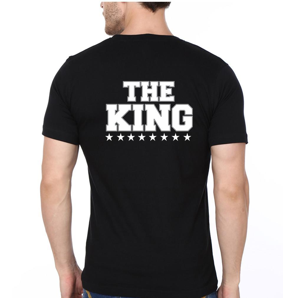 ektarfa.com Couple T-Shirts The King His Queen - Set of 2 Pcs.