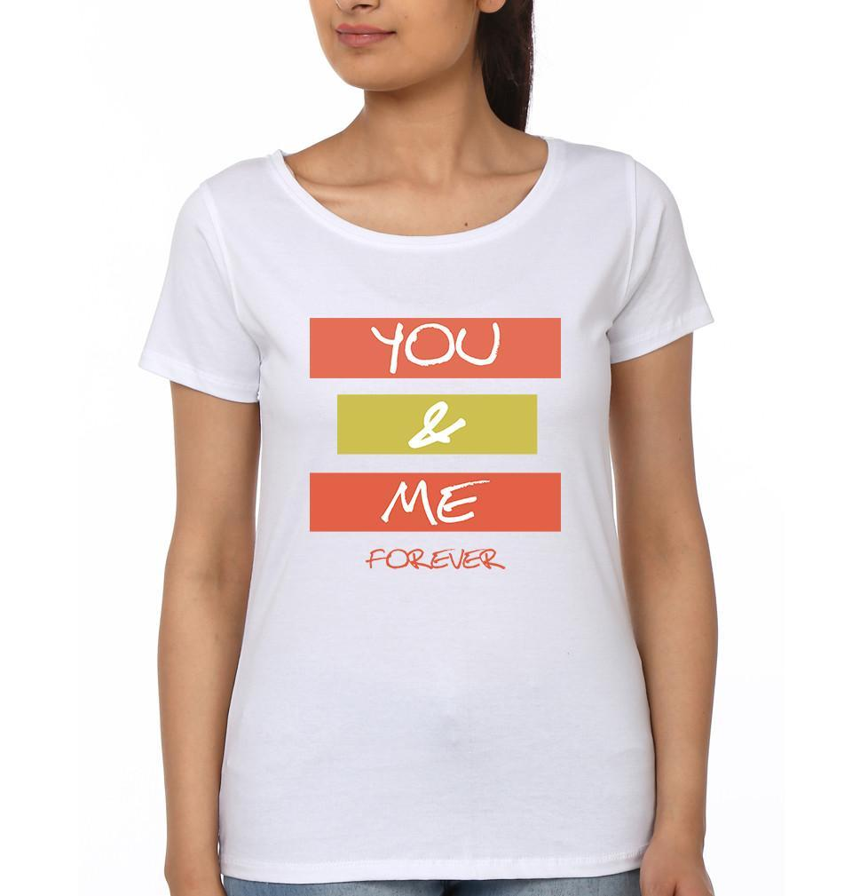 ektarfa.com Couple T-Shirts You & Me Forever - Set of 2 Pcs.