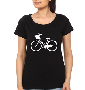 ektarfa.com Father Daughter T-Shirts Bicycle Father Daughter T-Shirts