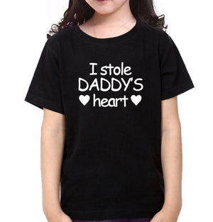 ektarfa.com Father Daughter T-Shirts I Stole Daddy Heart Father Daughter T-Shirts
