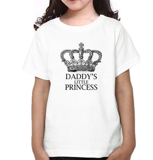 ektarfa.com Father Daughter T-Shirts King Aka Daddy Daddy's Little Princess Father Daughter T-Shirts