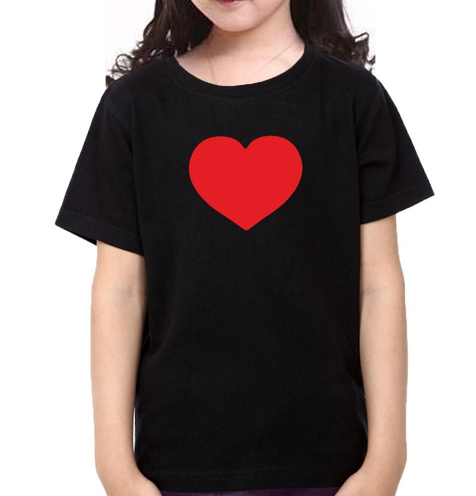 ektarfa.com Father Daughter T-Shirts Tie Heart Father Daughter T-Shirts
