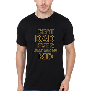 ektarfa.com Father Son T-Shirts Best Dad Ever Best Kid Ever Father Son T-Shirts