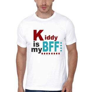 ektarfa.com Father Son T-Shirts Daddy Is My Bff Kiddy Is My Bff