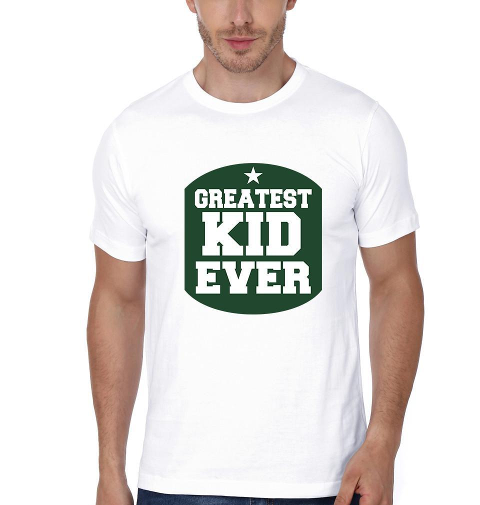 ektarfa.com Father Son T-Shirts Greatest Dad Ever Greatest Kid Ever