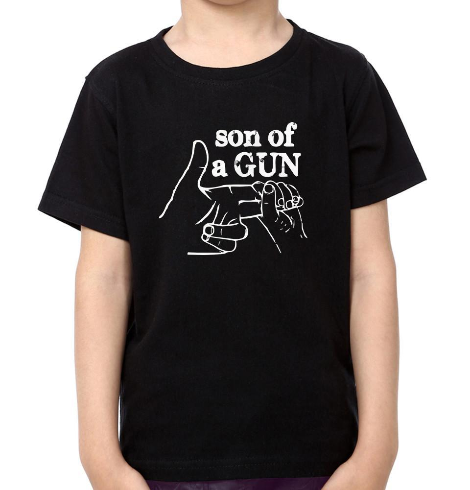 ektarfa.com Father Son T-Shirts Gun Son Of Gun Father Son T-Shirts