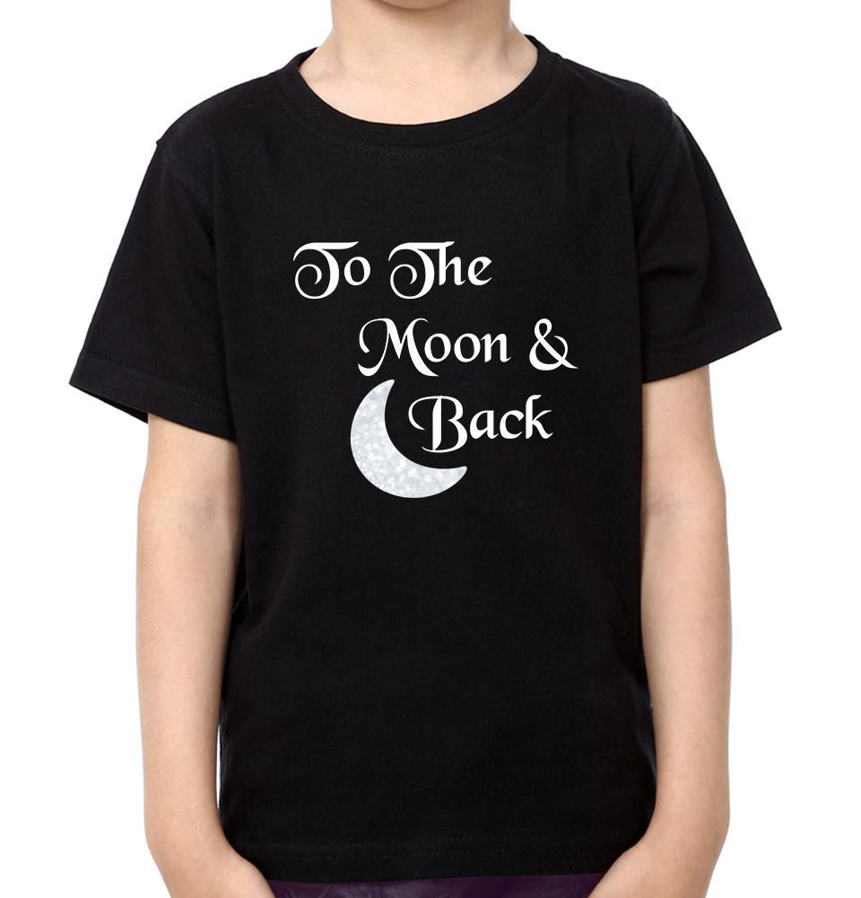 ektarfa.com Father Son T-Shirts I Love You To The Moon & Back