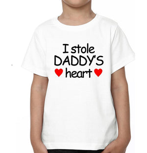 ektarfa.com Father Son T-Shirts I Stole daddy's Heart
