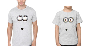ektarfa.com Father Son T-Shirts Minion