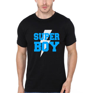 ektarfa.com Father Son T-Shirts Super Dad & Super Boy Father Son T-Shirts