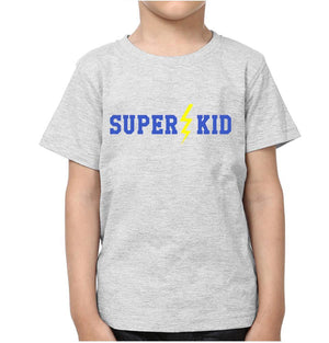ektarfa.com Father Son T-Shirts Super Dad Super Kid
