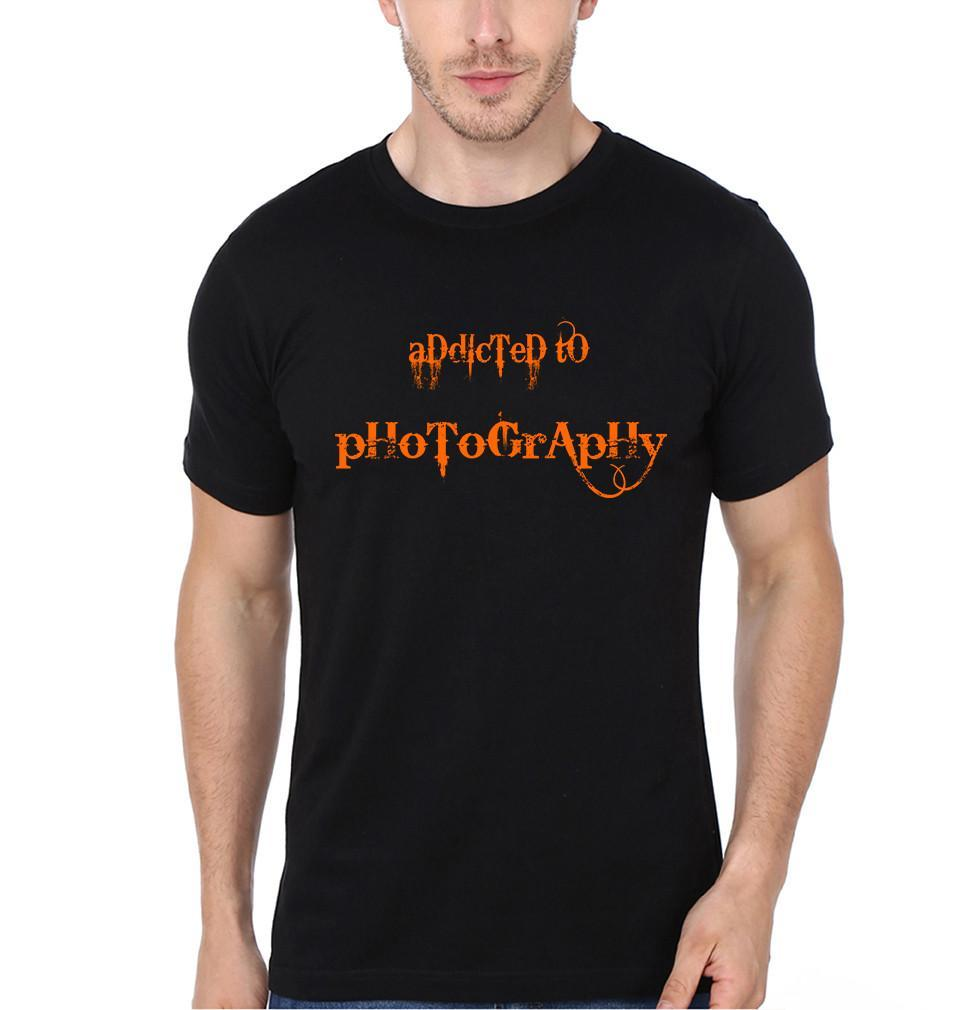 ektarfa.com Men Designs Addicted to photography Men t-shirts and hoodies
