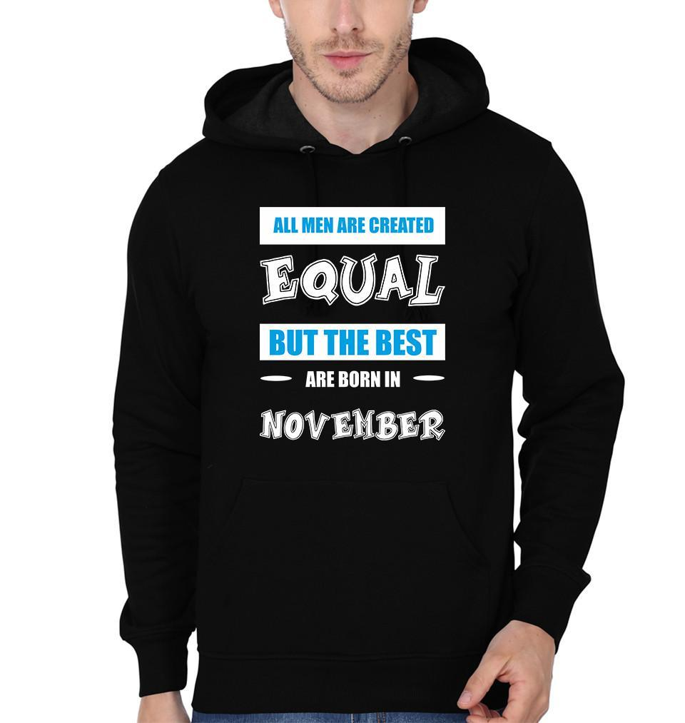 ektarfa.com Men Designs All Men Equal November birthday Men t-shirts and hoodies