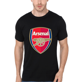 Arsenal Men Black T-Shirt & Hoodie