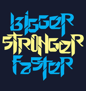 ektarfa.com Men Designs Bigger Stronger Faster Men T shirts & Hoodie