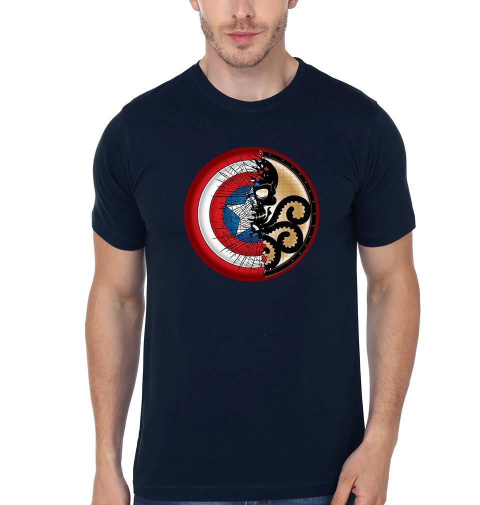 ektarfa.com Men Designs Captain America & Hydra Men T-Shirt & Hoodie