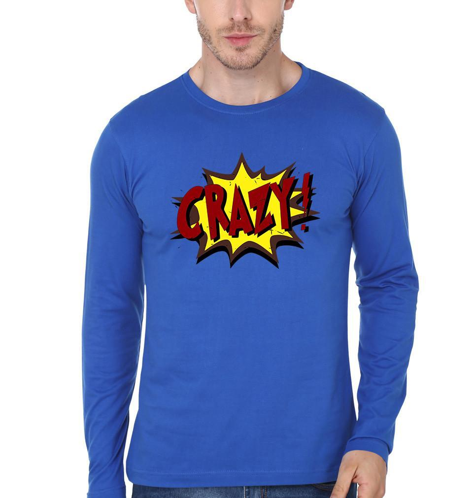 ektarfa.com Men Designs CRAZY Men T-Shirt & Hoodie