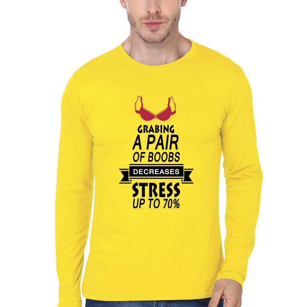 ektarfa.com Men Designs DECREASE STRESS UPTO 70% Men T-Shirt & Hoodie