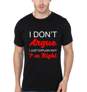 ektarfa.com Men Designs Don't Argue Men T-Shirt & Hoodie