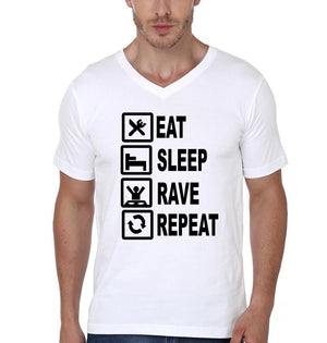 ektarfa.com Men Designs Eat Sleep Rave Repeat Men T shirts & Hoodie