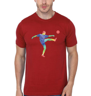 ektarfa.com Men Designs Football Volley Men T-Shirt & Hoodie