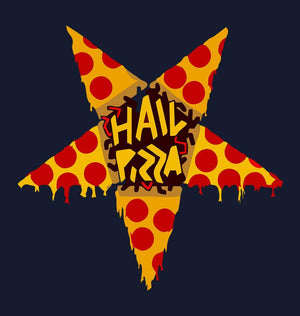 ektarfa.com Men Designs Hail Pizza Men T-Shirt & Hoodie