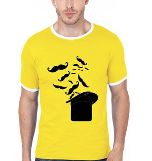 ektarfa.com Men Designs Hat With Mustache Men T-Shirt & Hoodie
