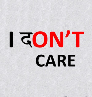 ektarfa.com Men Designs I Dont Care Men T-Shirt & Hoodie
