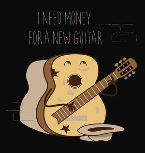 ektarfa.com Men Designs i need money to buy new guitar Men T shirts & Hoodie