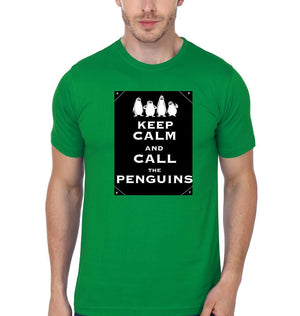ektarfa.com Men Designs Keep Calm & Call the Penguins Men T-shirts & Hoodies