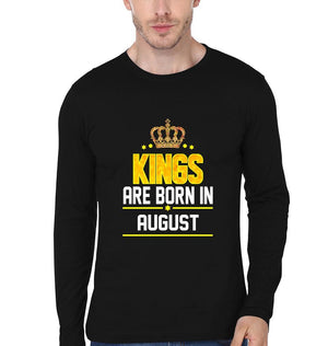 ektarfa.com Men Designs Kings Born August birthday Men t shirts and hoodies