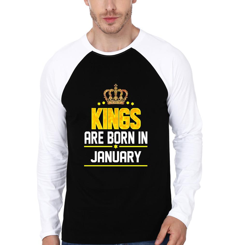 ektarfa.com Men Designs kings born january birthday Men t shirts and hoodies