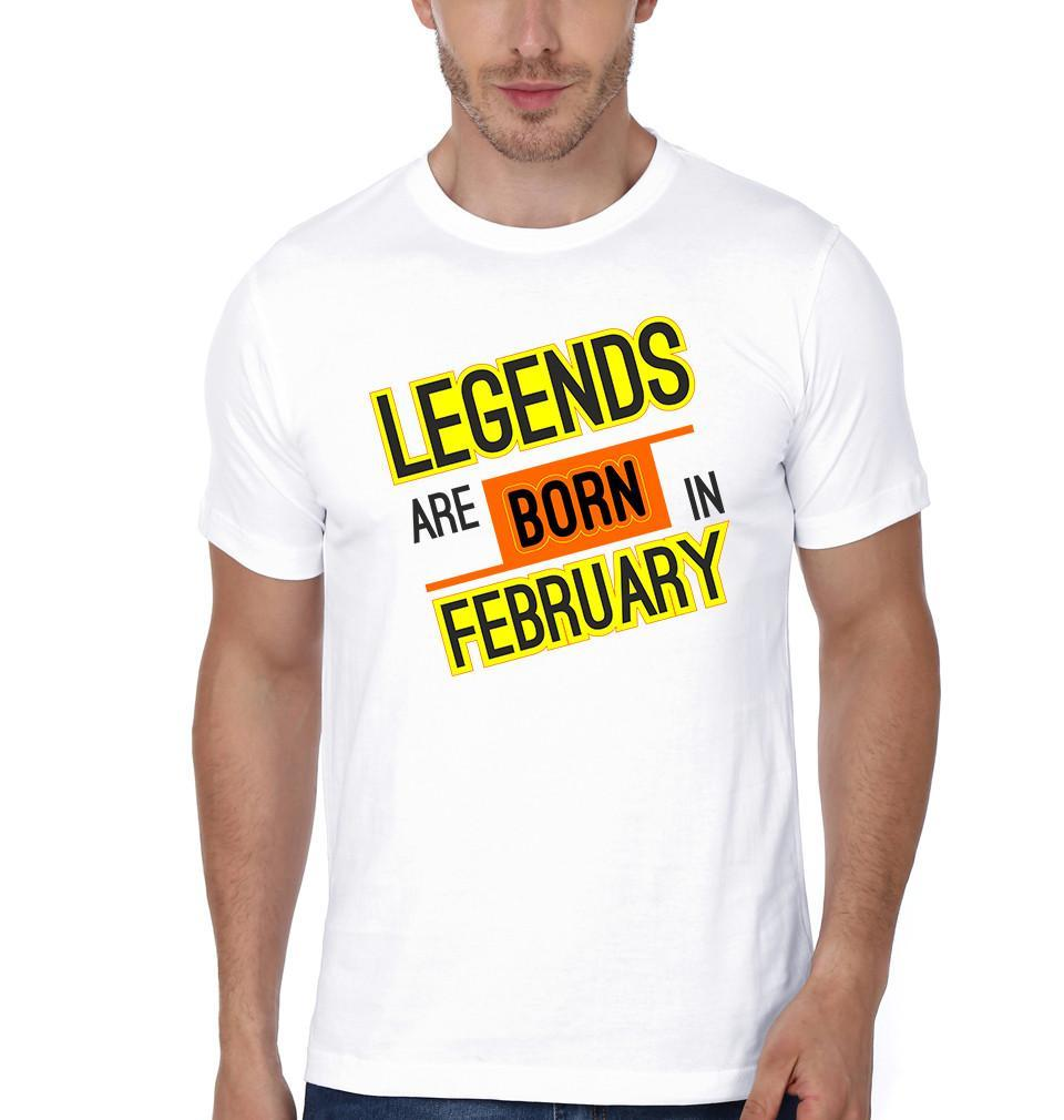 ektarfa.com Men Designs Legend Born February birthday Men t shirts and hoodies