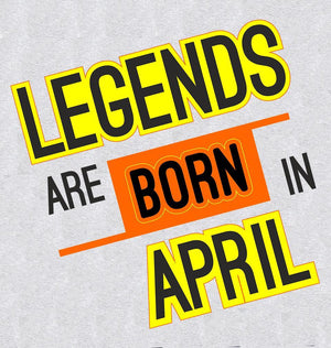 ektarfa.com Men Designs Legends are Born in April birthday Men t shirts and hoodies