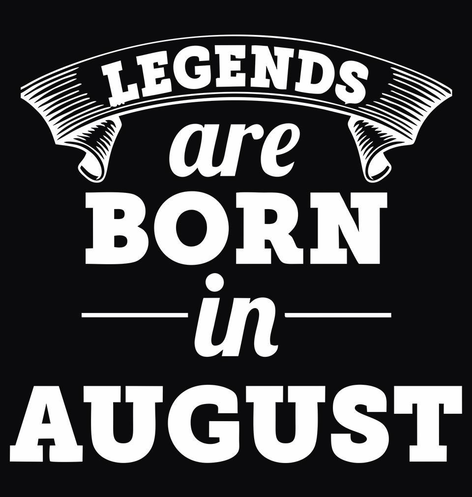 ektarfa.com Men Designs Legends are Born in August birthday Men t shirts and hoodies