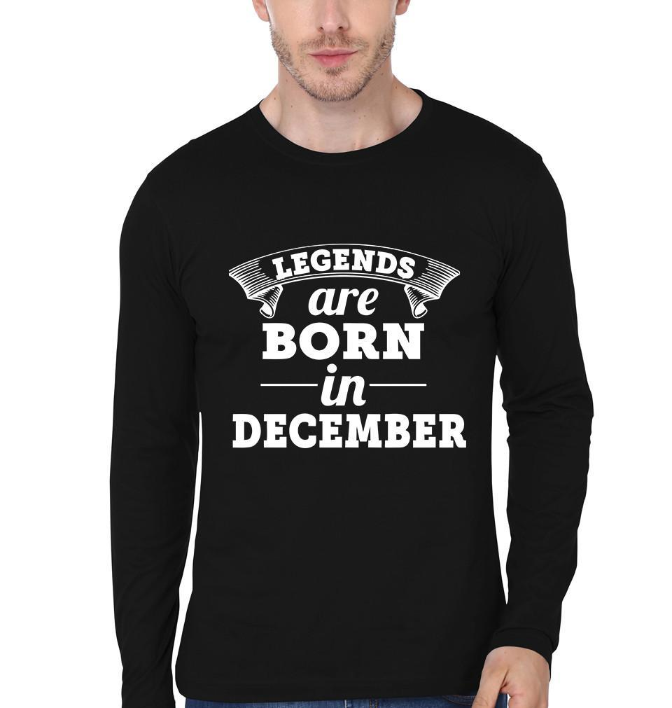 ektarfa.com Men Designs Legends are Born in December birthday Men t shirts and hoodies