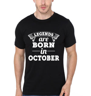 ektarfa.com Men Designs Legends are Born in October birthday Men t shirts and hoodies