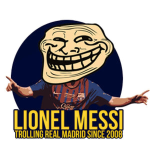 ektarfa.com Men Designs Messi Trolling Men T-Shirt & Hoodie