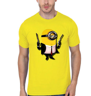 ektarfa.com Men Designs Minion Agent47 Funny men T-Shirts & Hoodie