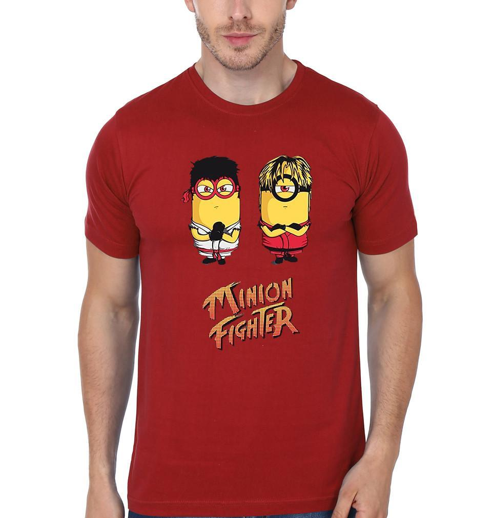 ektarfa.com Men Designs Minion Fighter Funny men T-Shirts & Hoodie