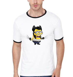 ektarfa.com Men Designs Minion Hugh Jackman Funny men T-Shirts & Hoodie