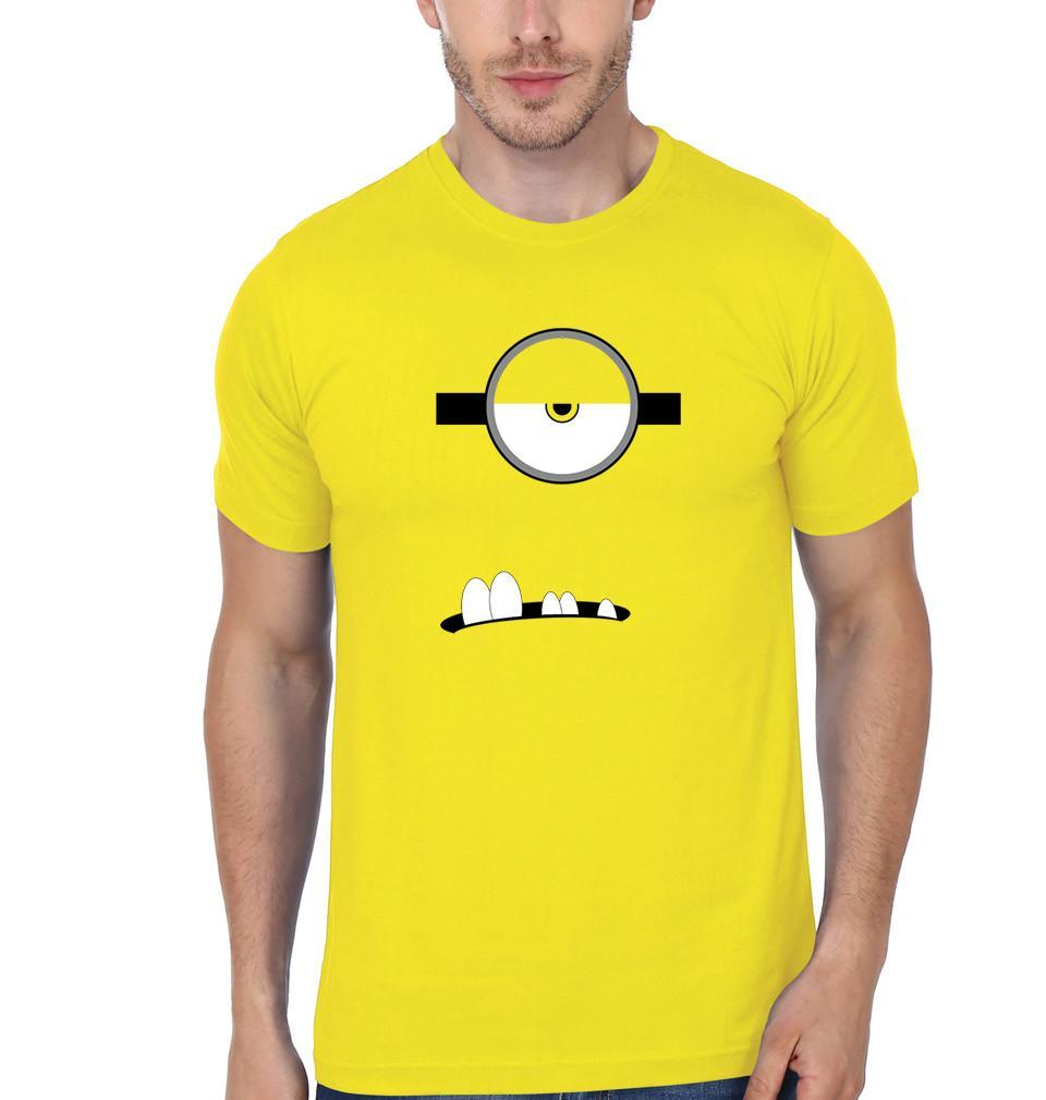ektarfa.com Men Designs Minion Single Eye & Teeth men T-Shirt & Hoodie