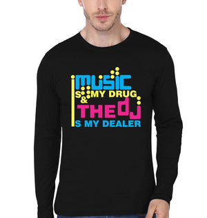 ektarfa.com Men Designs Music is my Drug Men T shirts & Hoodie