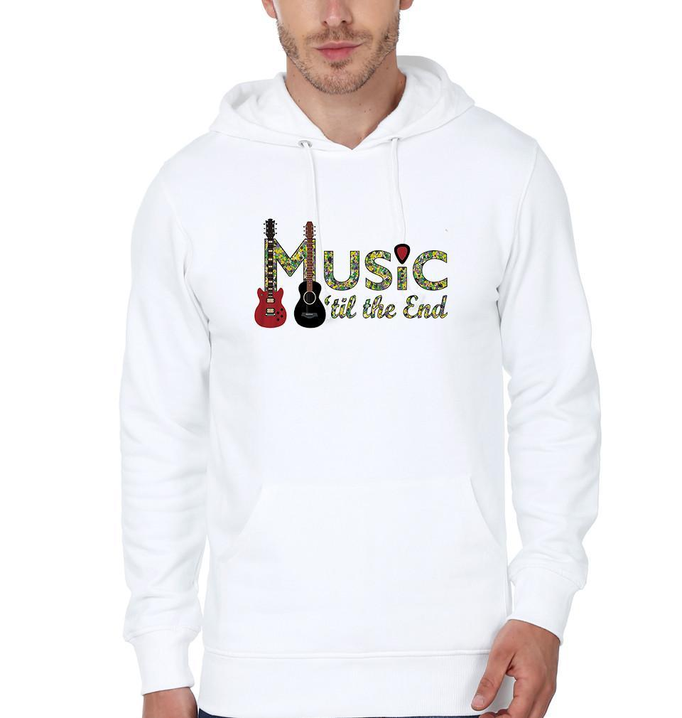 ektarfa.com Men Designs music till end Men T shirts & Hoodie