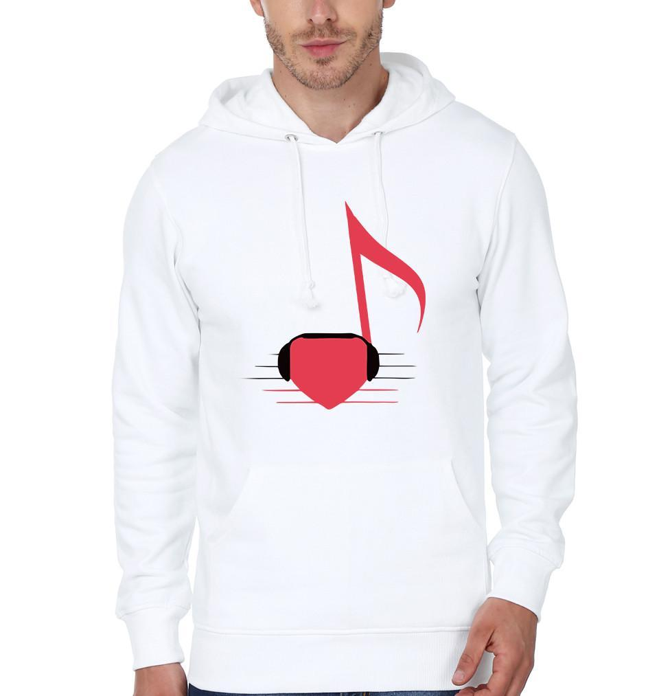 ektarfa.com Men Designs Musical Heart Men T shirts & Hoodie