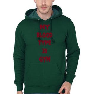 ektarfa.com Men Designs My Blood Type is GYM Men T-Shirts & Hoodies