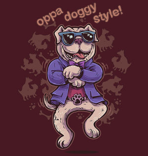 ektarfa.com Men Designs oppa doggy style Men T shirts & Hoodie