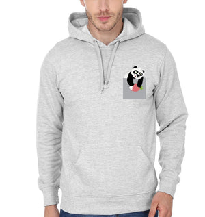 ektarfa.com Men Designs Panda At Pocket Men T-shirts & Hoodies